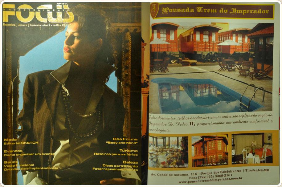 Revista Focus Entretenimento - 2008