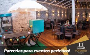 Salão de Festa BH - Romana Recepções - Parceiros