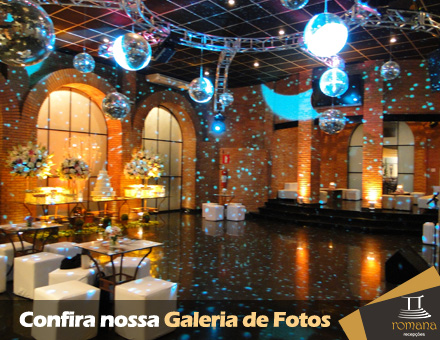 Salão de festas em BH - Romana Recepções - Fotos